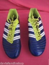 Adidas David Beckham Predator Soccer Cleats Blue & Yellow Size 8.5 8 1/2 Men's