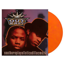 Outkast Southernplayalisticadillacmuzik LP Orange Vinyl Newbury Comics EXCLUSIVE