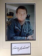 GARY LOCKWOOD - 2001 SPACE ODYSSEY ACTOR - EXCELLENT SIGNED COLOUR PHOTO DISPLAY