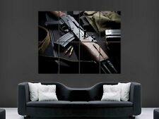 CHINESE AK47 GUN  GIANT LARGE WALL ART POSTER PICTURE BIG