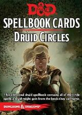 Druid Circles - D and D Spellbook Cards