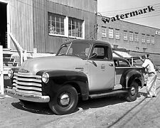 Photograph Vintage Gulf 1949 Chevrolet 3100 Series Pickup Truck  8x10