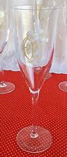 Set of 12 Perrier Jouet Champagne Glasses Flutes Stemware Floral Gold Pink 5 oz
