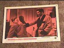 RISE AND FALL OF LEGS DIAMOND 1960 LOBBY CARD #5 CRIME