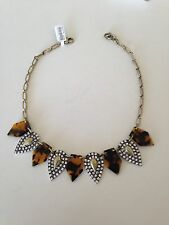 NWT J.CREW LULU FROST CRYSTAL KITE NECKLACE RETAIL $195