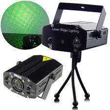 LED de escenario Iluminación Sonido Activado R&G Proyector Láser Disco Fiesta Discoteca Dj Luz