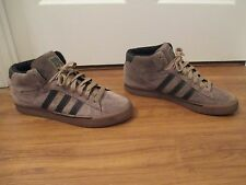 Used Worn Size 13 Adidas O'Connor Campus Vulc Shoes Brown Chocolate Gold