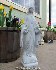 "Nice! ~ 24"" OUR LADY OF GRACE STATUE Indoor Outdoor Mary Garden Decor **USA**"