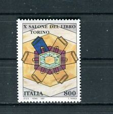 Italia 1997 10° edizione salone del libro di Torino  MNH