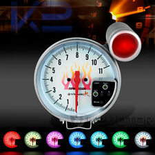 "JDM 5"" 11000 11K RPM 7 LED Color Shift Light Racing Tachometer Gauge"