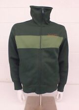 Roots Green Track Jacket-Style Zip-Front Sweatshirt Men's Small Fast Shipping