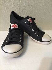 Lee Cooper Stride 30 #Y1008 Rubber Toe Athletic/Casual Shoes Black Men's UK 9