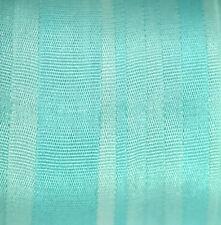 Cinta de seda de bordado de 7mm - 3 metros turquesa