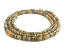 kabibi Shell Heishi Beads (4 - 5 mm / 24 Inches Strand)