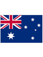 Australia Aussie Australian National Large 5 X 3Ft Fans Supporters Ashes Flag
