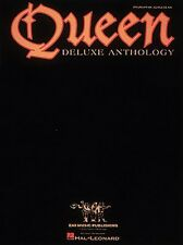Queen Deluxe Anthology Sheet Music Piano Vocal Guitar Songbook NEW 000308246