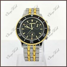 New Luxury Fabulous Gents Men's Wrist Watch + Extra Button Cell Batteries (Gift)
