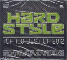 Hardstyle Top 100 - Best of 2012 -Noisecontrollers, Headhunterz u.a.(2 CDs,NEU)