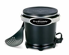 Presto 05420 FryDaddy Fry Daddy Electric Deep Fryer Kitchen Appliance Black New