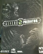 Alien vs Predator 2 Game Manual ONLY  PC
