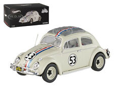 "1962 VOLKSWAGEN BEETLE  ""THE LOVE BUG"" HERBIE #53 ELITE 1/43 BY HOTWHEELS BCK07"