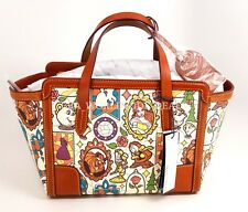 NEW Disney Dooney & Bourke Beauty and the Beast Small Shopper Tote Purse Bag