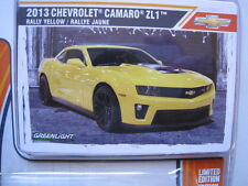 Chevrolet Camaro ZL1 2013 GL Muscle Greenlight Limited Edition 1:64 OVP NEU
