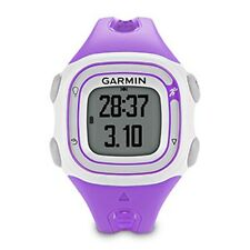 Garmin 010-01039-17 Forerunner 10 GPS Running Watch in Color Violet / White, New