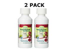 *2 PACK* Excel Roundworm Liquid Cat De-Wormer, 4-Ounce