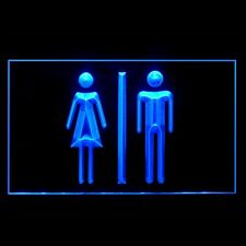 120028 Toilet Restroom Washroom Bathrooms Lounge Hand Dryer Sink LED Light Sign