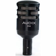 Audix D6 Cardioid Dynamic Instrument Kick Drum Microphone