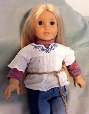 AMERICAN GIRL DOLL JULIE.  IN GENTLY PLAYED WITH CONDITION
