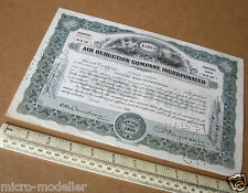 1940 Airco Air Reduction Company Inc 100 Shares Certificate. Fine Condition