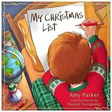 My Christmas List by Amy Parker (2013, Hardcover)