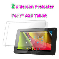 "2 x FULL Screen Protector per A13 Allwinner 7 ""POLLICI CAPACITIVO ANDROID TABLET PC"