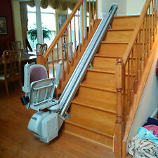 Acorn Stairlift for L Shaped Stairway (8ft & 10ft) - 2 rail and chair sets