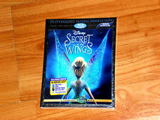 Secret of the Wings (Blu-ray/DVD, 2012, 3-Disc Set, 3D/2D; Includes Digital...