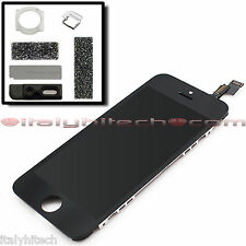 DISPLAY ORIGINAL PER IPHONE 5S A1457 / A1530 / A1533 NERO BLACK LCD TOUCH SCREEN