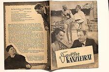 DF Nr.30  Das Film Programm Der Herr Kanzleirat um 1949 mit Hans Moser F. Kraus