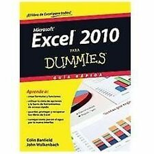 Excel 2010 para dummies (Spanish Edition), Walkenbach, John, Banfield, Colin, Go