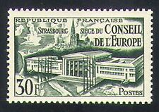 France 1952 Council of Europe/Buildings/Architecture/Politics 1v (n34093)