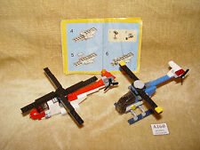 LEGO Sets: 4918-1 Mini Flyers (2007) 100% & 5864-1 Mini Helicopter (2010) 100%