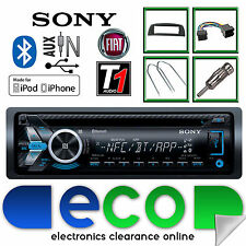 Fiat Punto Sony CD MP3 USB Bluetooth Handsfree Ipod Iphone Radio Stereo  Kit