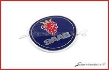 ORIGINALE Saab-EMBLEMA POSTERIORE SAAB 9-5 STATION WAGON 02-05 LOGO BADGE Nouveau New