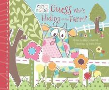 Guess Who's Hiding on the Farm? by Ashley K. Rideout (2016, Hardcover)