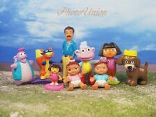DORA THE EXPLORER & Friends Set 9 Figure Model Cake Topper Decoration K364_Set9