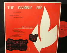 THE INVISIBLE FIRE Methodist Student chorus THOR JOHNSON conducting PRIVATE LP