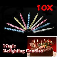 Eternal Birthday Blowing Candles Magic Candles Tricky Toy Gift Relighting
