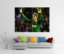 DAVID DE GEA MANCHESTER MAN UNITED MUFC GIANT WALL PHOTO PRINT ART POSTER J143