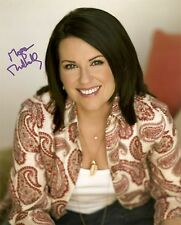 MEGAN MULLALLY GENUINE AUTHENTIC SIGNED WILL & GRACE 10X8 PHOTO AFTAL & UACC C
